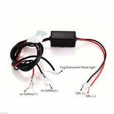 Car Led Daytime Running Light Automatic ON/OFF Control Module Switch Relay DRL