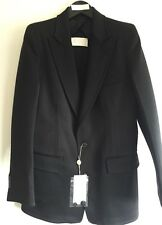 MAISON MARTIN MARGIELA BLACK WOOL BLAZER JACKET IT 40 UK 10 RRP £1200
