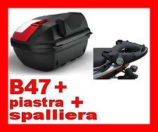 HONDA XL 125 V VARADERO 2007-2012 BAULETTO B47NML + ATTACCO E217 + E131  BLADE