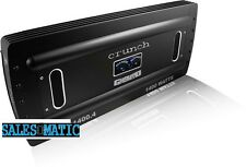 NEW CRUNCH GP1400.4 +100% WARRANTY INCLUDED GROUND POUNDER CAR AMPLIFIER
