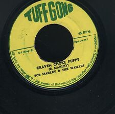 """1569 BOB MARLEY & WAILERS CRAVEN CHOKE PUPPY-TUFF GONG-1971 REGGAE 45 7"""""""