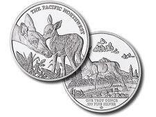 2015 Pacific Northwest Series # 1 | Blacktail Deer BU 1 oz Silver Round USA Coin