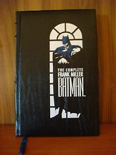 The Complete Frank Miller Batman - Leatherbound HC 1989 1st Printing