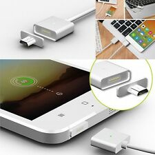 Android Micro USB Magnetic Adapter Charger Cable Metal Plug for Samsung Phone