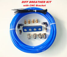 DIFF BREATHER KIT-4 point Bracket, Triton, 4x4, Jeep, Hilux