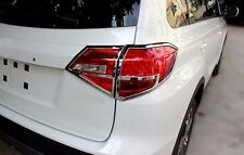 ABS Chrome Rear Tail Light Lamp Cover Trim for Suzuki Vitara Escudo 2015 2016