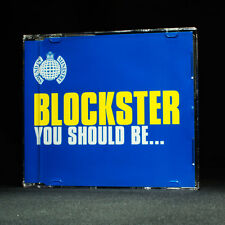 Blockster - You Should Be - Ministry Of Sound - music cd EP