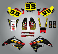 Honda CR 85 - 2002 - 2014 Sticker Kit - Factory  Style graphics / decals