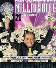 Who Wants to Be a Millionaire, 2nd Edition, CD-Rom PC Game (2000)