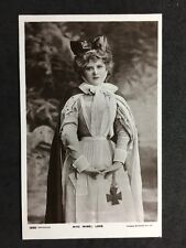 Vintage Postcard: Actress : #A82 : Miss Mabel Love : Nurse Uniform