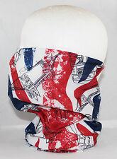 Multi use Biker Union Jack Cycling Neck Tube Scarf Snood Face Mask Warm Bandana