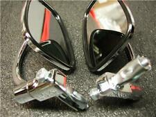 Pair of Chrome Bar End Mirrors  Norton/Triumph/BSA
