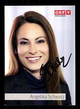 Angelika Schwarz ORF Autogrammkarte Original Signiert # BC 71196