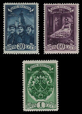 Russia / Sowjetunion 1948 - Mi. Nr. 1236-1238** - Bergarbeiter / Miner´s Day
