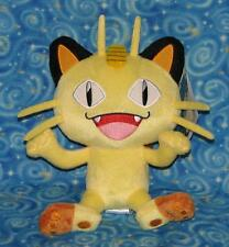 Meowth Pokemon Plush Doll Stuffed Toy by Tomy USA New with Tags USA Seller