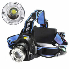 XM-L T6 LED Linterna Frontal Luz Lampara Faros Headlight Headlamp Cabeza 5000LM