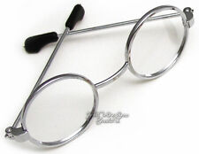 Silver Wire Rim Eyeglasses Made For American Girl Doll Clothes