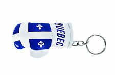 Keychain Mini boxing gloves key chain ring flag key ring cute quebec canada