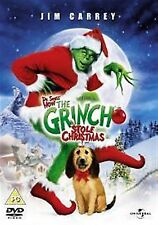 HOW THE GRINCH STOLE CHRISTMAS Jeffrey Tambor, Jim Carrey NEW SEALED UK R2 DVD