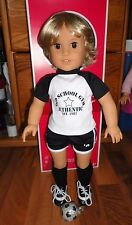 "American girl custom Boy/brother 18"" doll blond brown eyes for Julie Rebecca NEW"