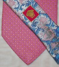 VERSACE men's tie 100% Silk Made in Italy