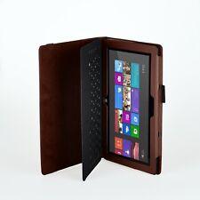 eFabrik Tasche f. Microsoft Surface 2 Hülle Cover Case Schutz Kunstleder Braun
