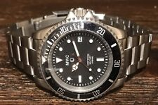 MWC 300m/1000ft Stainless Steel Hybrid Military Divers Watch w/ SS Bracelet
