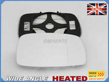 Wing Mirror Glass VW Corrado 1988-1995 Wide Angle HEATED Right Side #1025