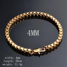 Jewelry Fashion 18K GOLD Jewelry Bracelet For men Women Bracelet S05