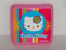 Tupperwar Hello Kitty Sandwich Keeper Also Great for Crafts - Pink Rare New