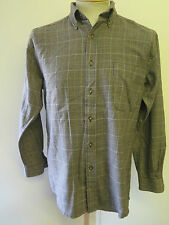 "Genuine Pendleton Wool Check Flannel Shirt - S 36"" Euro 46 - Brown"