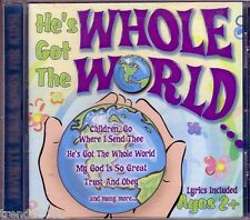 He's Got Whole World CD Classic Greatest Bible Songs Kids ST JOHNS CHOIR RARE