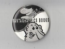 Fantagraphics Books Comic Book Store Promo Pin Button Pinback