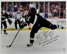 Ryan Getzlaf Signed 07 Stanley Cup Champ 2x Olympic Gold 16x20 Canvas Photo 1/15