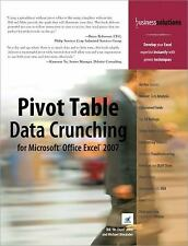 NEW - Pivot Table Data Crunching for Microsoft Office Excel 2007