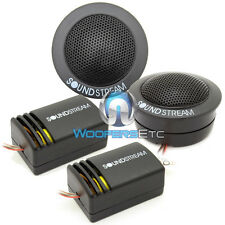 "TWS.1 SOUNDSTREAM CAR AUDIO 1"" SOFT DOME TWEETERS & CROSSOVERS FLUSH ANGLE MOUNT"