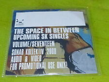 "VARIOUS - The Space In Between Upcoming SK 12""s Volume SEVENTEEN !!!!CD PROMO!"