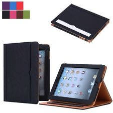 For Apple Ipad Air1/2 New Sleep/Wake Wallet Smart Soft Leather Case Cover Stand