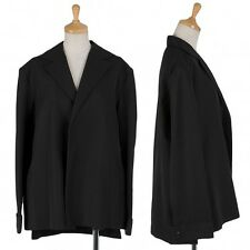 LIMI feu rayon wool button-less jacket Size M(K-9121)