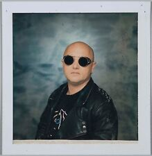 """Original Studio Polaroid of Angry Anderson for Album 'Beats from a Single Drum"""""""