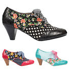 Irregular Choice Poetic Licence End of Story Dot Retro Vintage 1940s Jive Shoes