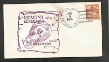 GEMINI GTA 9 RENDEZOUS MISSION JUN 6,1966 U.S.S. RUPERTUS
