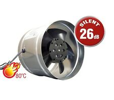 "Chimney Extractor Fan 125mm / 5"" Ducting Ventilator Cooker Kitchen Commercial"