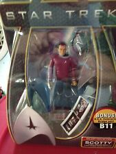 2009 Playmates Star Trek Movie Galaxy Collection SCOTTY Action Figure B11 Bridge