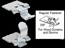"Ludwig 3/8"" Standard Fit Screen and Storm Window Snap Fastener - (4)"