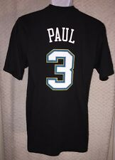 Chris Paul New Orleans Hornets jersey t-shirt size adult Small by adidas