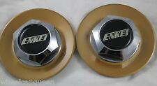 ENKEI  CHROME  CUSTOM WHEEL CENTER CAP     #17.06  (2)