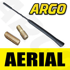 GENUINE REPLACEMENT BLACK CAR AERIAL BEE STING MAST ANTENNA RUBBER ARIEL ARIAL