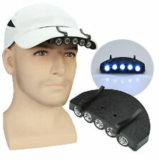 5 LED Cap Hat Head Light Lamp Torch HeadLamp Flashlight for Outdoor Hiking Hunt
