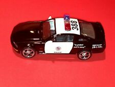 KINSMART 2006 FORD MUSTANG GT POLICE CAR PULL BACK ACTION SCALE 1:38